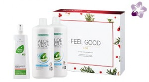 Żel do picia Aloe Vera Aloes Freedom 2pak + emergency spray
