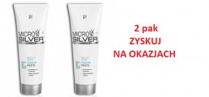 Pasta do zębów Microsilver Plus 2pak